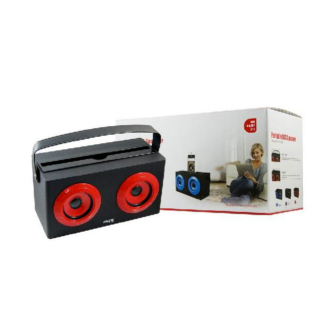 Ver Altavoz Bluetooth COOLER Rojo
