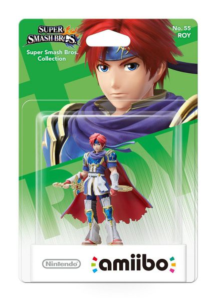 Ver Amiibo Smash Roy