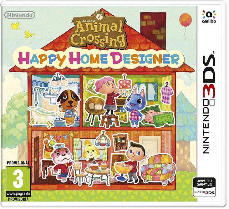 Ver Animal Crossing Happy Home Designer 3Ds