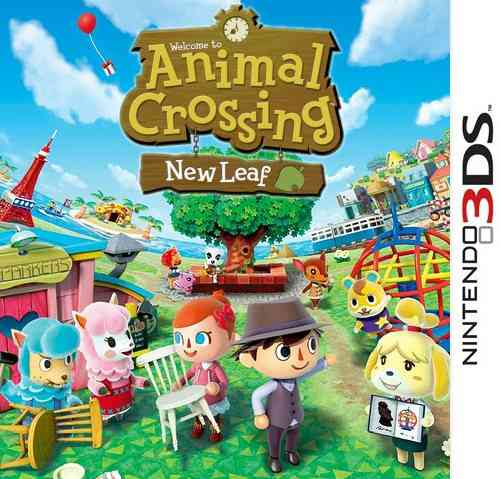 Ver Animal Crossing New Leaf 3Ds