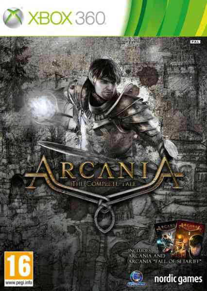 Ver Arcania - Gothic 4 The Complete Tale X360