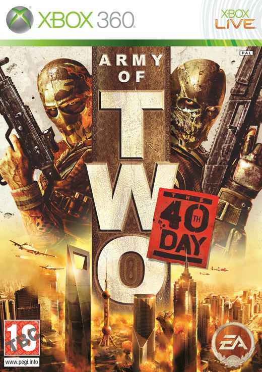 Army Of Two The 40th Day X360