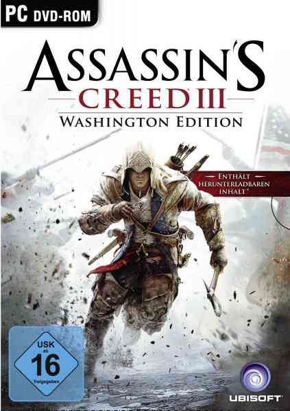 Assassins Creed 3 Washington Edition Pc