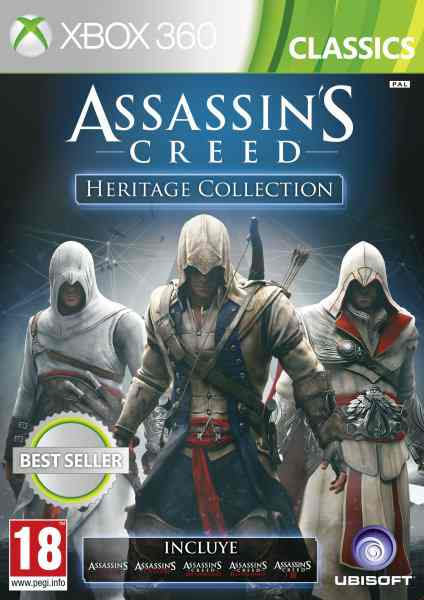 Assassins Creed Heritage Collection X360