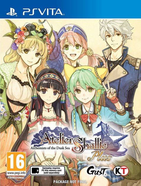 Ver Atelier Shallie Plus Alchemists Of The Dusk Sea Psvita