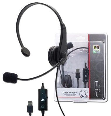 Auricular Chat Headset Licenciado Sony Ps3