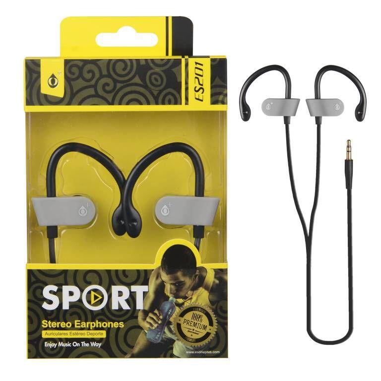 Auriculares Sport One Plus ES201 Gris