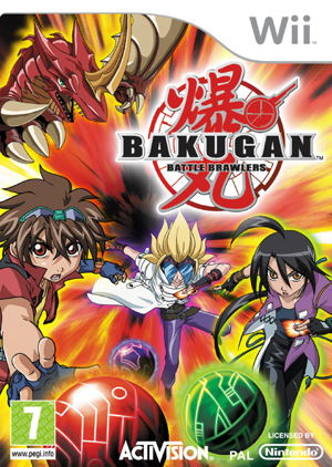 Bakugan Battle Brawler Wii