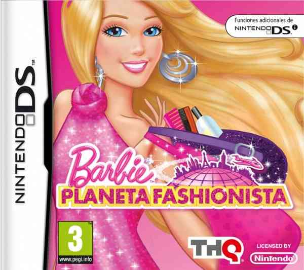 Barbie Planeta Fashionista Ds