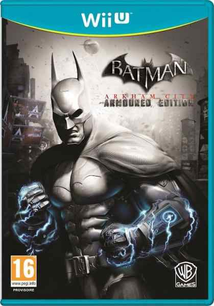 Batman Arkham City Armored Ed Wii U