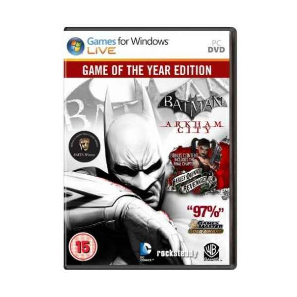 Batman Arkham City Goty Pc