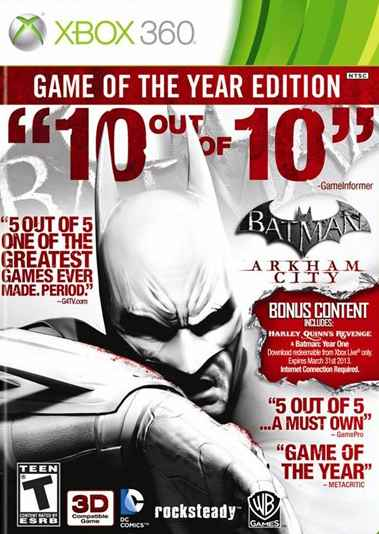 Ver BATMAN ARKHAM CITY GOTY X360