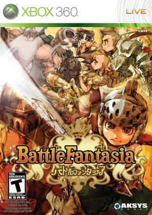 Ver BATTLE FANTASIA X360