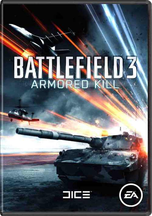Battlefield 3 Armored Kill  Pdlc 3  Code-in-a-box Pc