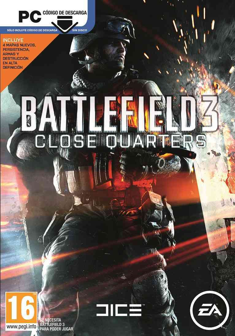 Battlefield 3 Close Quarters  Pdlc 2  Code In A Box Pc