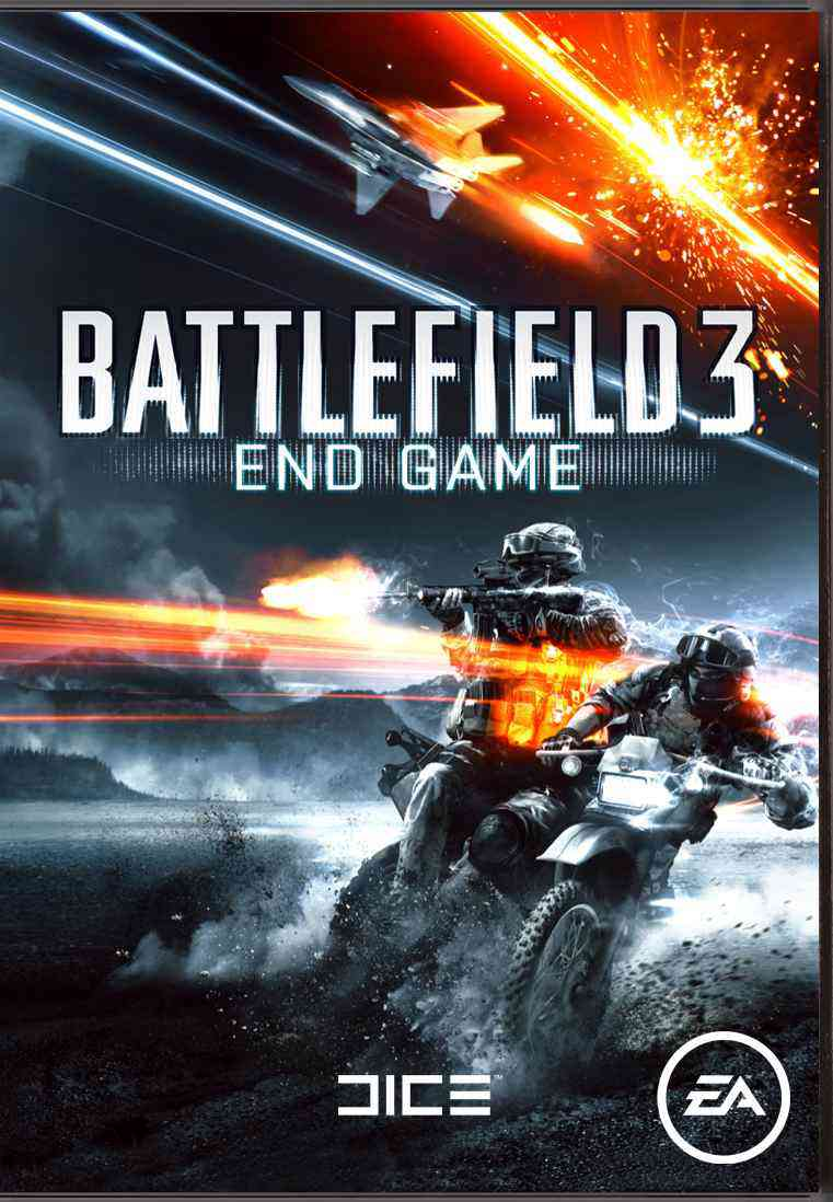 Battlefield 3 End Game  Pdlc 4  Code-in-a-box Pc