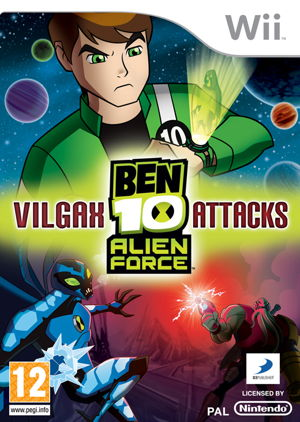 Ben 10 Alien Force Vilgax Attacks Wii