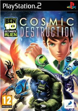 Ben 10 Ultimate Alien Cosmic Destruction Ps2