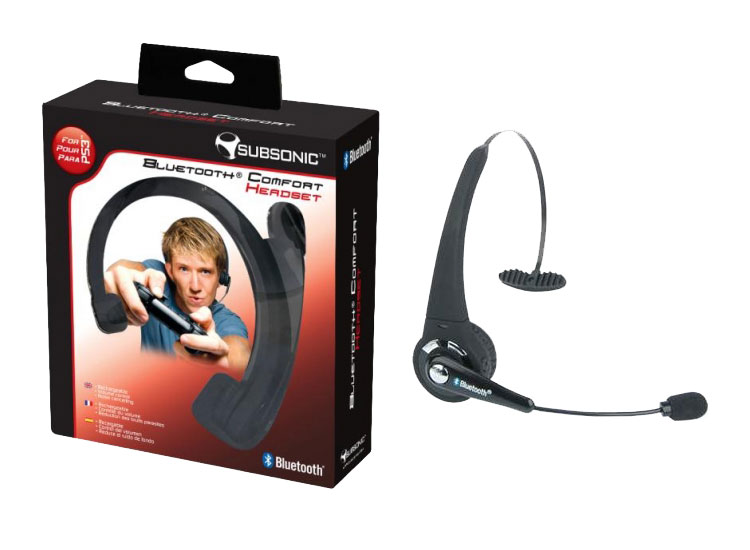 Bluetooth Comfort Headset Subsonic Ps3