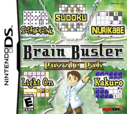 Brain Buster Puzzle Pack Nds