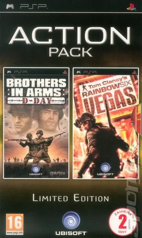 Brothers In Arms D-day   Rainbow Six Vegas Psp