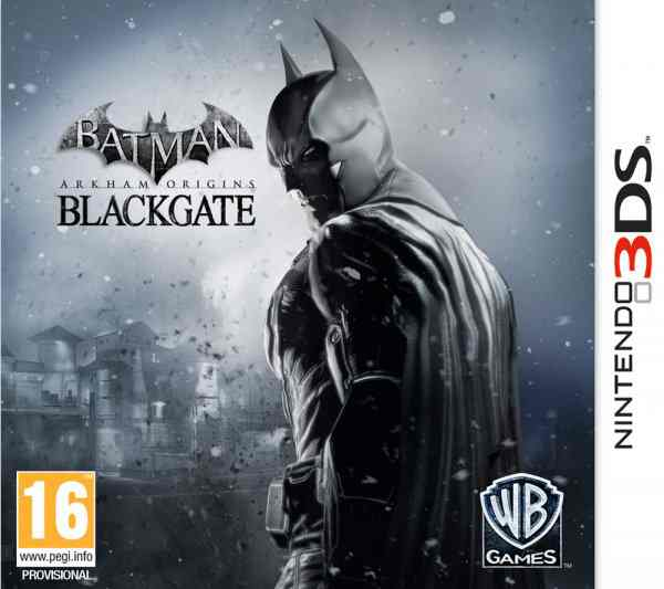 Batman Arkham Origins Blackgate 3ds