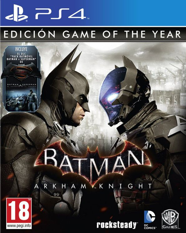 Ver Batman Arkham Knight Goty Ps4