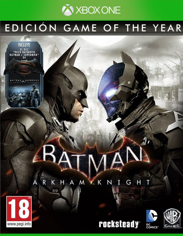 Ver Batman Arkham Knight Goty Xboxone