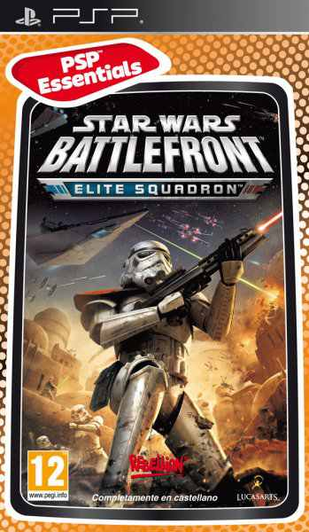 Battlefront Elite Squadron Essentials Psp