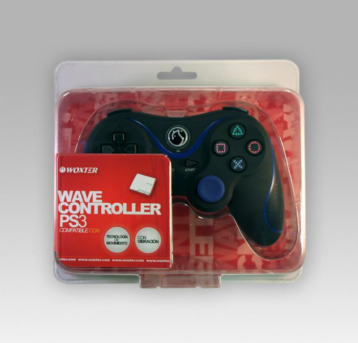 Ver Bluetooth Game Pad Ruber Woxter PS3