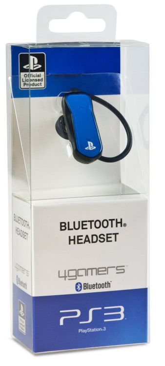 Ver Bluetooth Headset Licenciado Azul Ps3