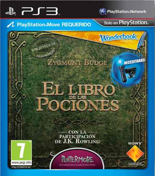 Book Of Potions Wonderbook Move Cam Ps3