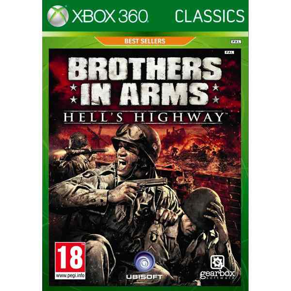 Brothers In Arms 3 Hells Highway Classics X360