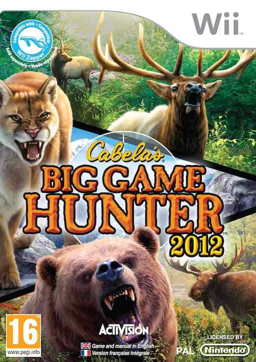 Cabelas Big Game Hunter 2012-bundle Wii