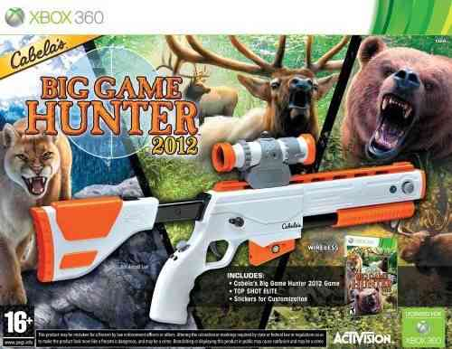 Cabelas Big Game Hunter 2012-bundle X360