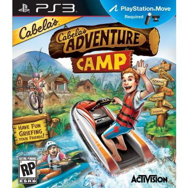 Cabelas Camp Adventures  Outdoor Sports   Move  Ps3