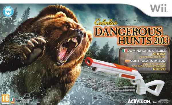 Cabelas Dangerous Hunts 2013 - Bundle Wii