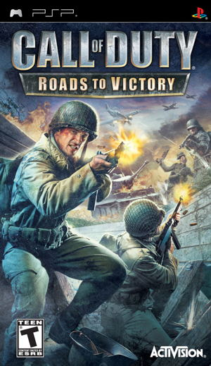 Ver CALL OF DUTY 3  ROANDS TO VICTORY PSP