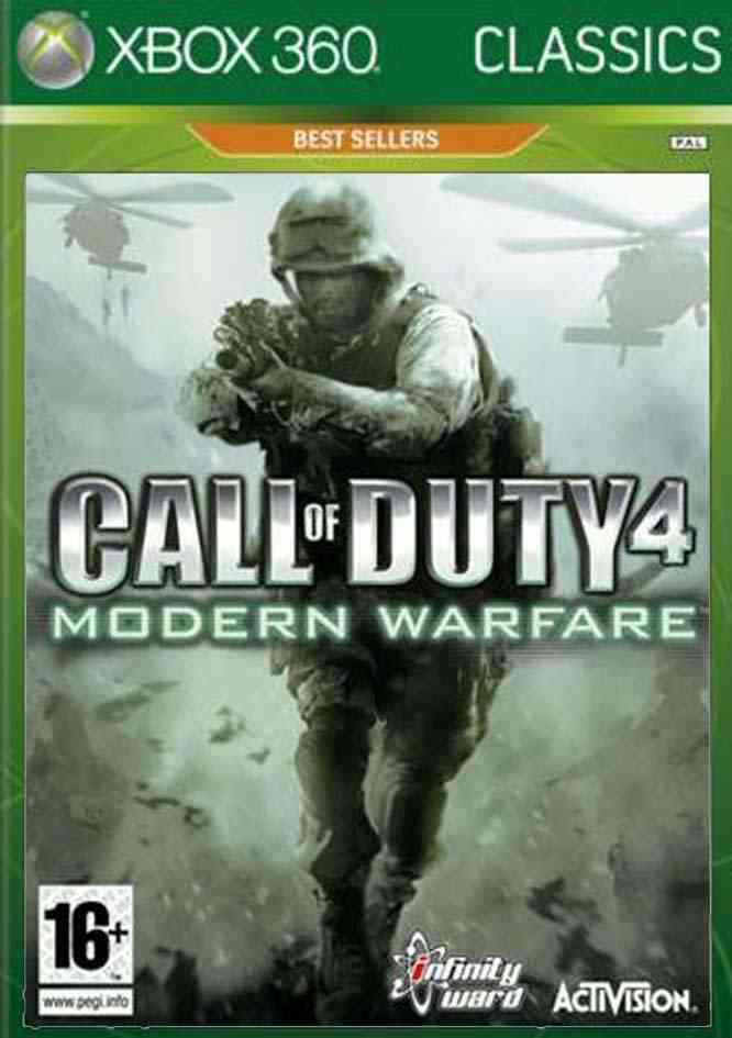 Call Of Duty Modern Warfare Classic X360