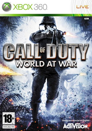 Ver CALL OF DUTY WORLD AT WAR CLASSIC X360