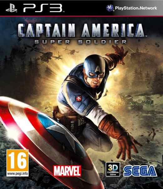 Capitan America Supersoldado Ps3