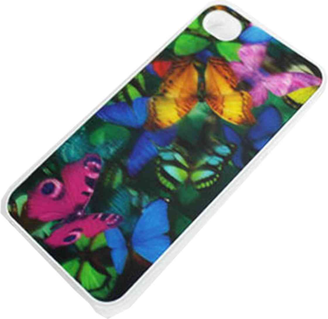 Carcasa Iphone 4 Y 4s 3d Case Butterfly