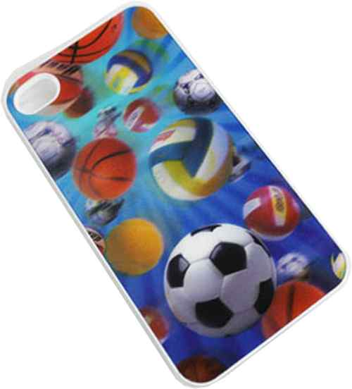 Carcasa Iphone 4 Y 4s 3d Case Football