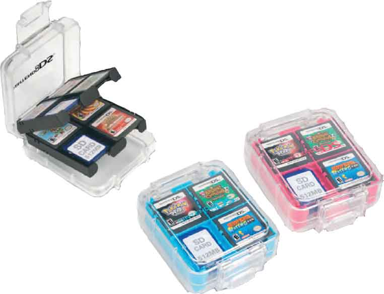 Clear Game Case Oficial Dsixl 3ds