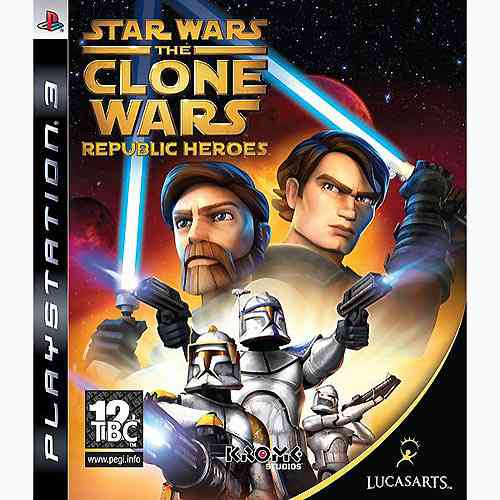 Clone Wars Heroes De La Republica Ps3