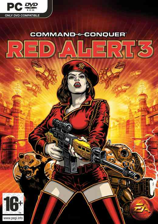 Command  Conquer Red Alert 3 Pc