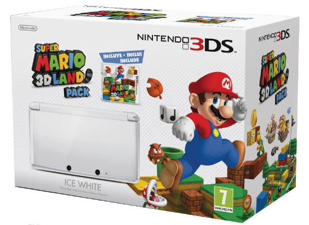 Consola 3ds Blanca   Super Mario 3d Land