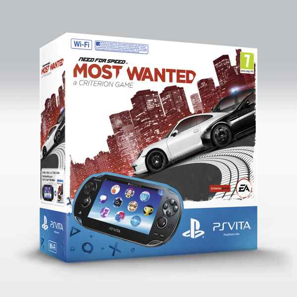 Consola Ps Vita   Need For Speed Most Wanted