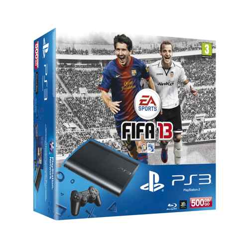 Consola Ps3 Slim 500 Gb   Fifa 13