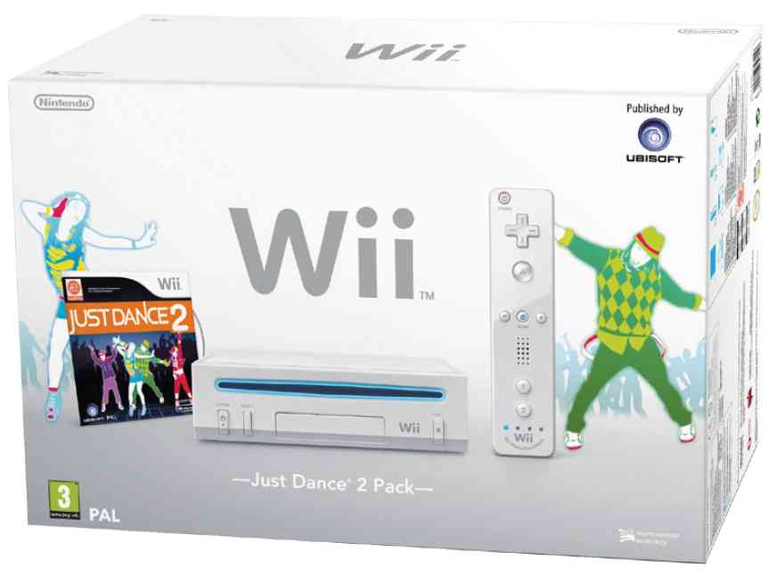 Consola Wii Blanca   Just Dance 2